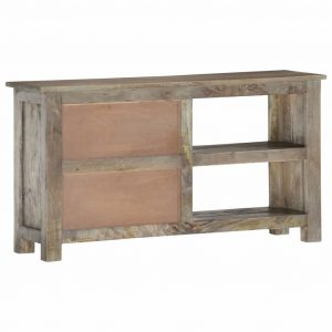 Tiberius Tv Unit In Solid Wood Suitable For 50 Inch Tv S Oak Castle